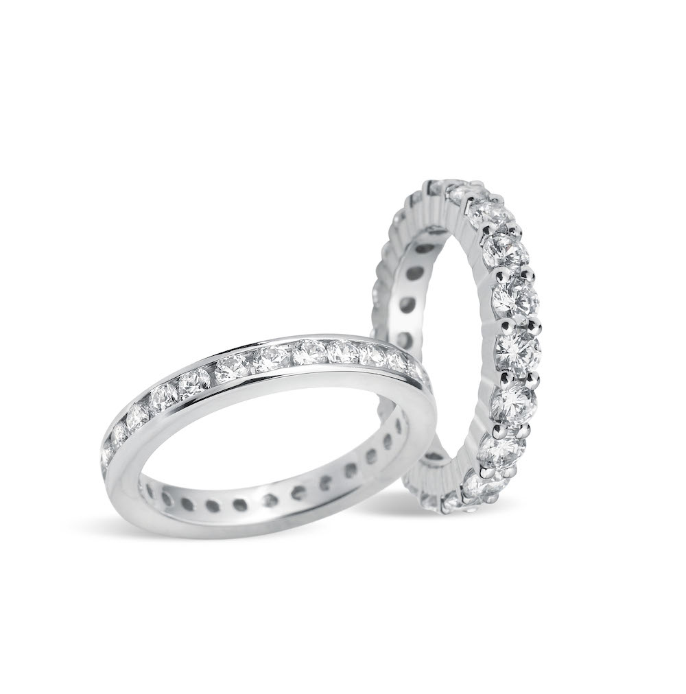 classic eternity rings